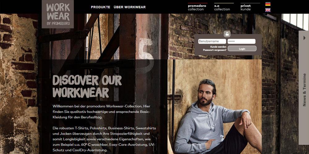 promodoro - Facelift des Webshops